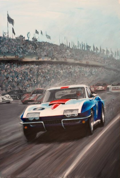 1967 Chevrolet Corvette Le Mans Racer Serves as Inspiration