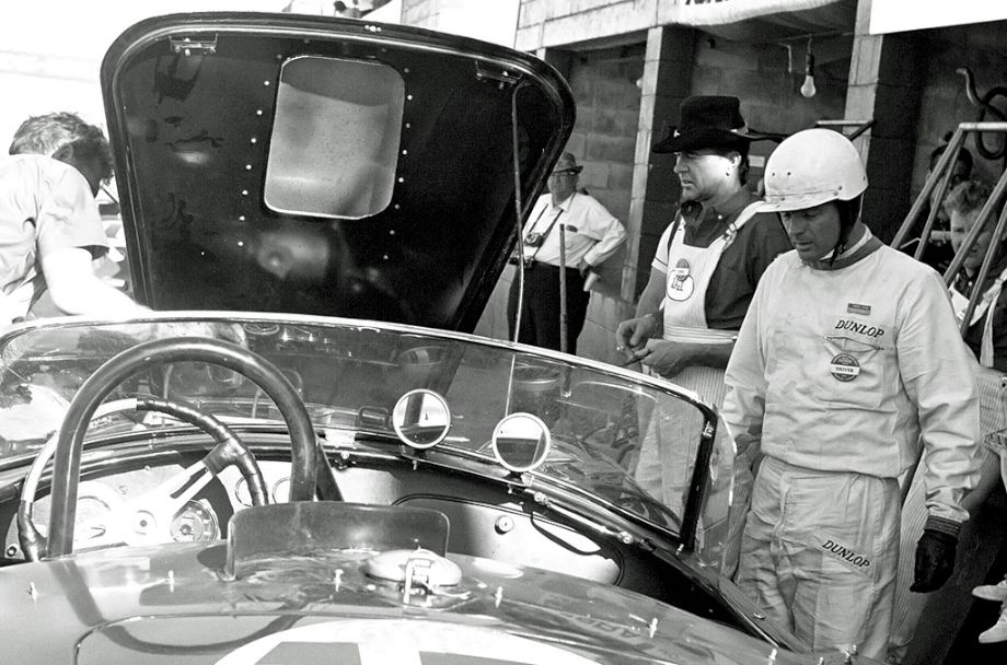 Carroll Shelby, Phil Hill, 1963 12 Hours of Sebring
