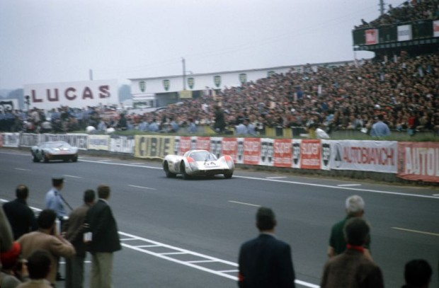 1969 24h Le Mans No. 64: Hans Herrmann and Gerard Larrousse in a 908 L Coupe finished 2nd overall