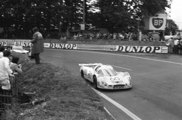 1972 Le Mans 24 - Porsche 908 Coupe LH of Reinhold Joest, Mario Casoni and Michel Weber