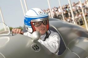 Jochen Mass at Goodwood Festival of Speed