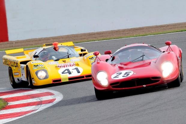 Ferrari 412P Ferrari 512M Silverstone