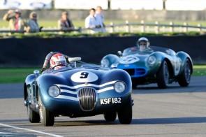 Jaguar C-Type - Goodwood Revival