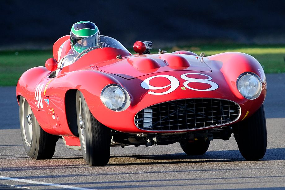 This 1955 Ferrari 857 Sport, seen here at the 2011 Goodwood Revival, recently sold for $6,270,000 at the Gooding Pebble Beach auction.