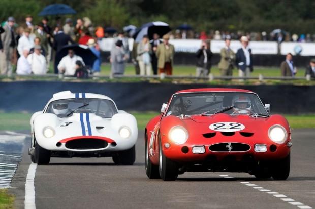 1962 Ferrari 250 GTO Maserati Tipo 151 Goodwood circuit