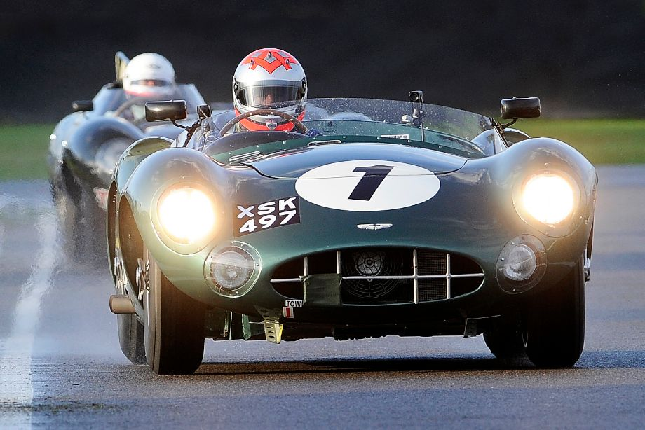 Aston Martin DBR1 at the 2011 Goodwood Revival