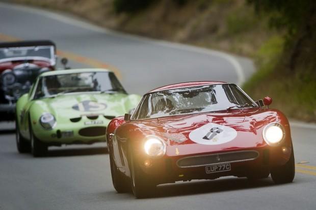 1962 Ferrari 250 GTO/64 s/n 3413GT, Greg Whitten, 1962 Ferrari 250 GTO s/n 3505GT, Eric Heerema