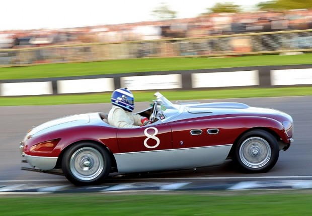 Ferrari 166 MM Barchetta driven by Michael Vergers at Goodwood Revival