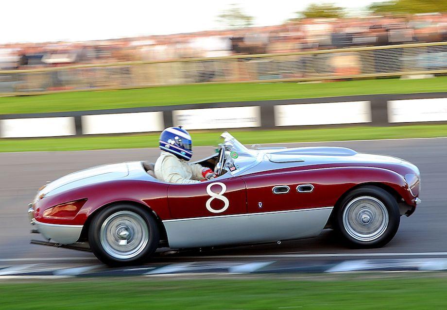 Countersteering the Ferrari 166 MM Barchetta Vignale