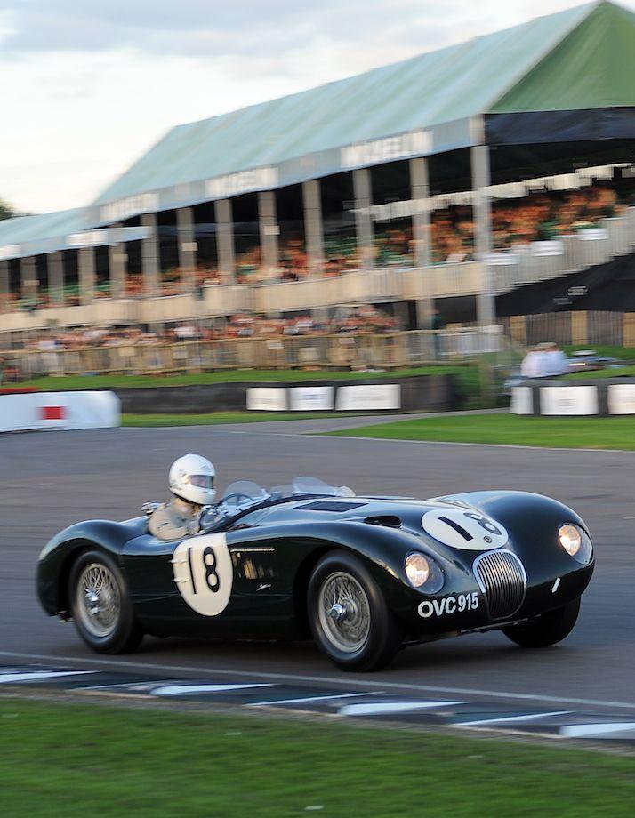 Jaguar C-Type XKC chassis 038 OVC 915 Registration