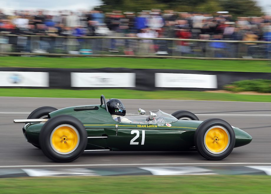 Timeless livery - Lotus 24 at the 2010 Goodwood Revival