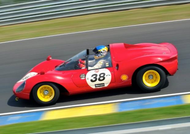 1964 Ferrari 206 Dino - Le Mans Classic