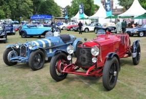 Alfa Romeo RLTF 1924 and Alfa Romeo 8C HT Monza 1932