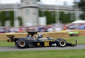 Lotus featured at Goodwood Festival of Speed 2012