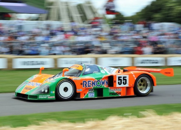 1991 Mazda 787B at Goodwood Festival of Speed 2011