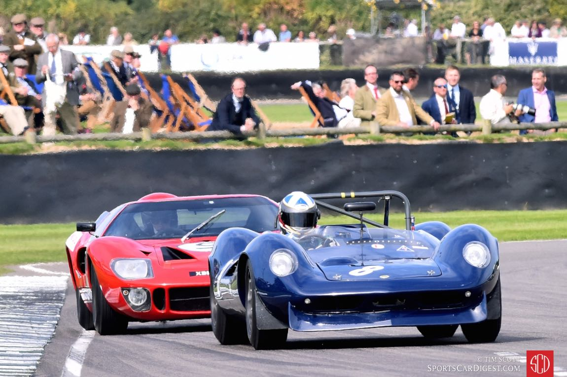 1964 Lotus-Ford 30 and 1967 Ford GT40