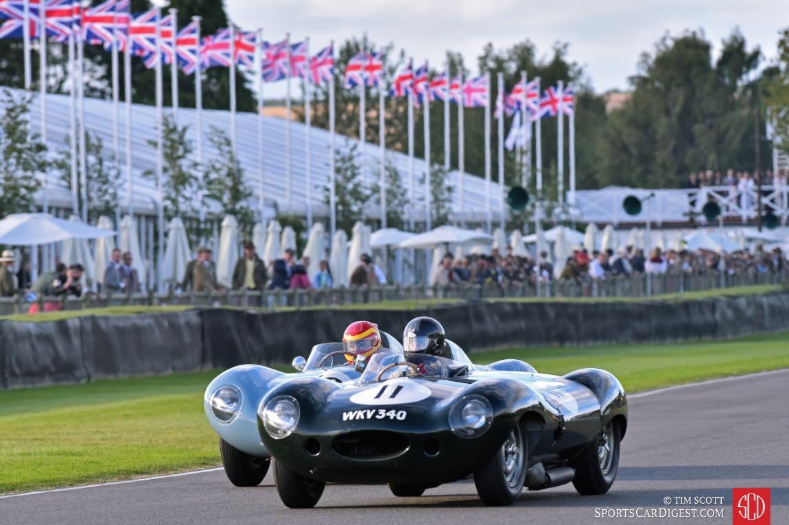 1955 Jaguar D-Types