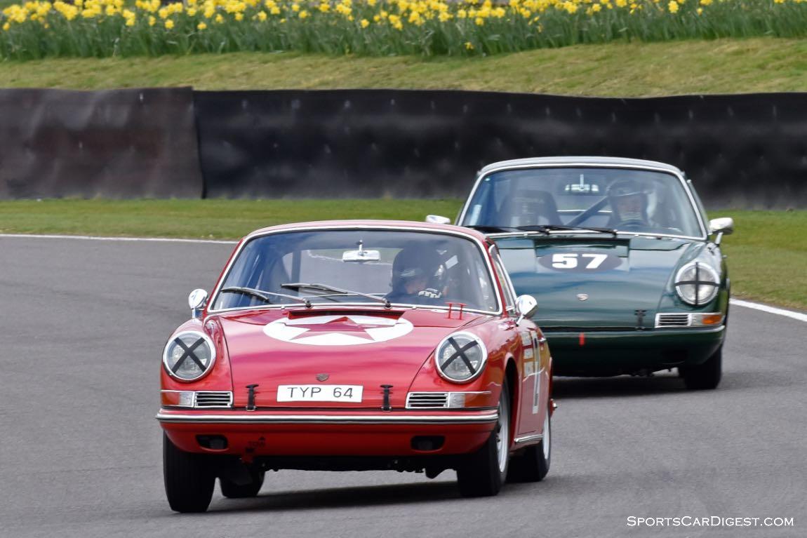 1964 Porsche 901 and 1965 Porsche 911