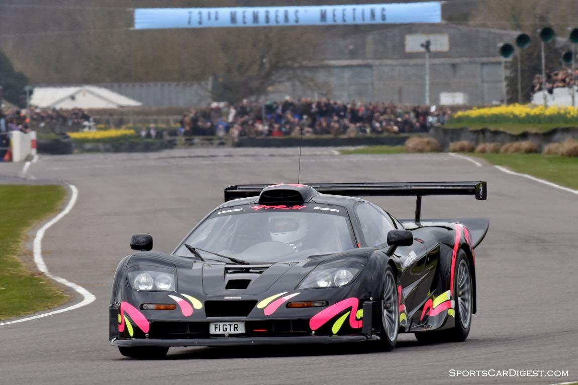 McLaren F1 GTR Longtail 03R driven by Kenny Brack