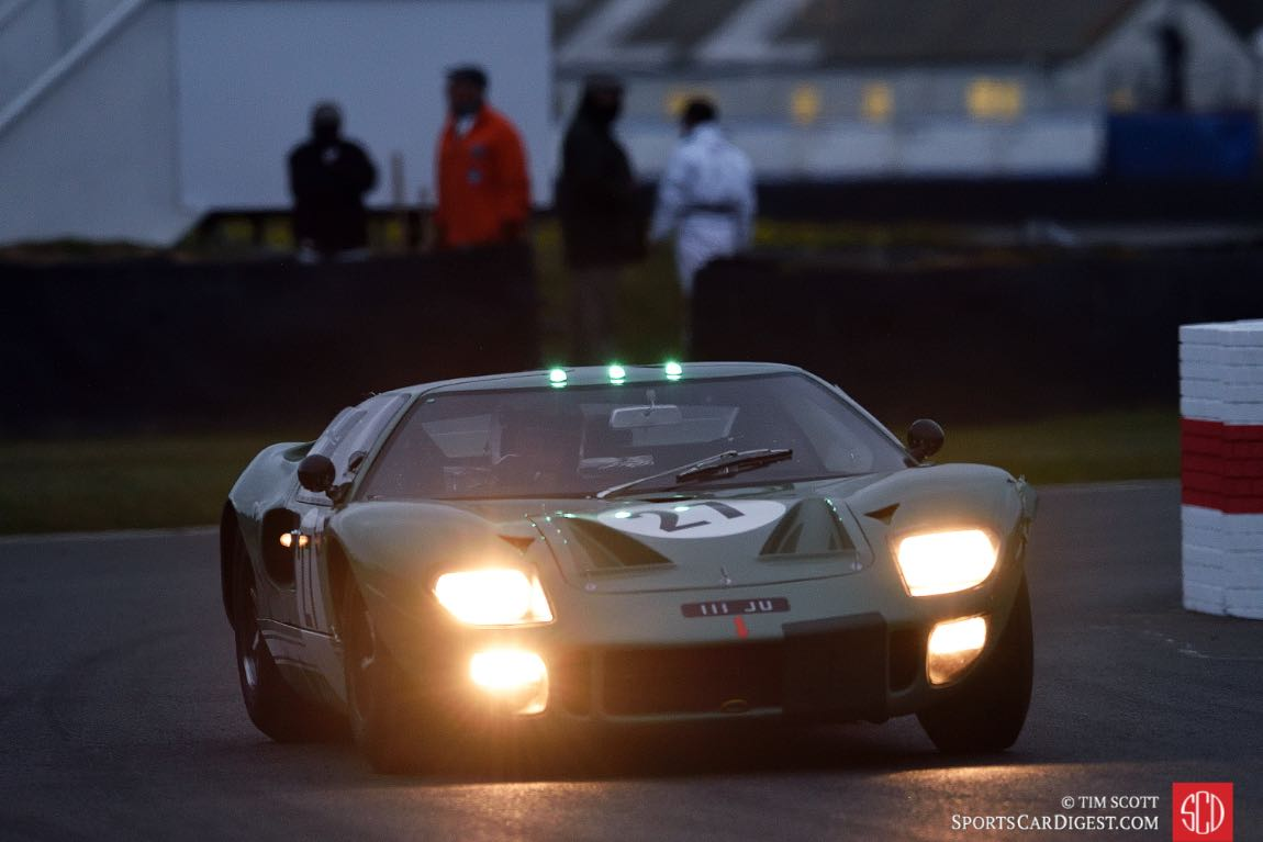 Goodwood Members Meeting 2016 - Ford GT40 Race