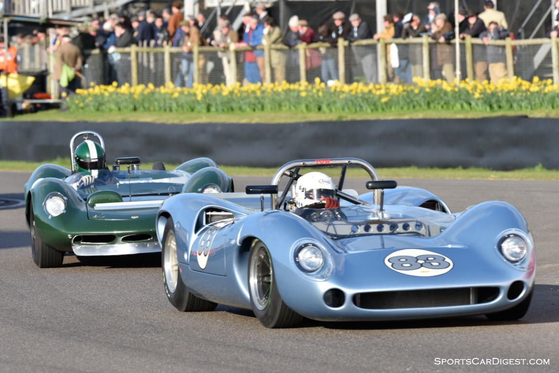 1966 Lola-Chevrolet T70 Spyder and 1964 Lotus-Ford 30