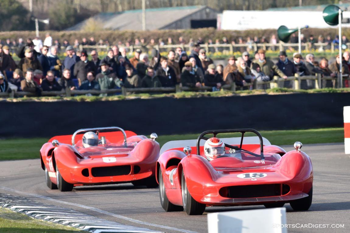 1965 McLaren-Chevrolet M1B and 1966 McLaren-Chevrolet M1B