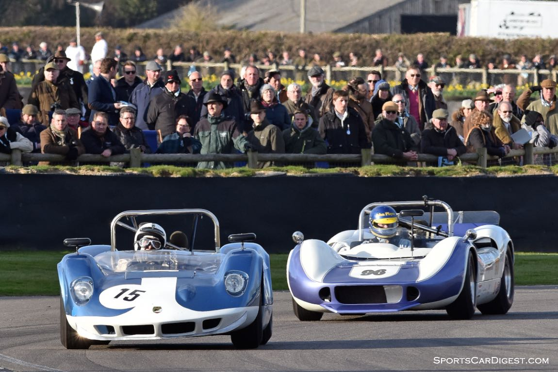 1964 McLaren-Chevrolet M1A and 1965 McLaren-Chevrolet M1B