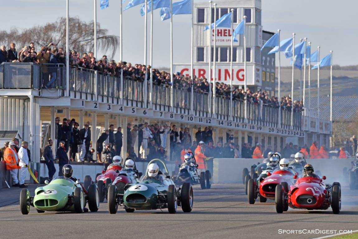Hawthorn Trophy for 1950s front-engined Grand Prix, F2 and Libre at Goodwood Members Meeting 2015