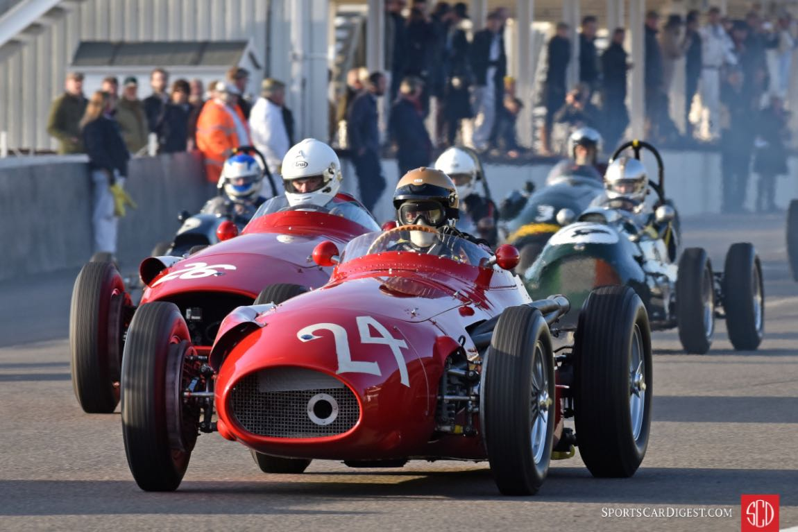 1955 Maserati 250F at the Goodwood Members Meeting (photo: Tim Scott)