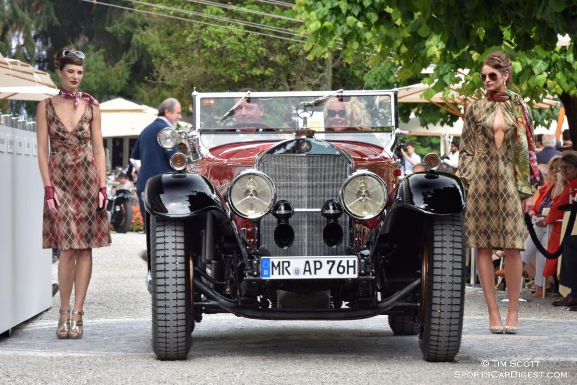 1930 Mercedes-Benz 710 SS Tourer