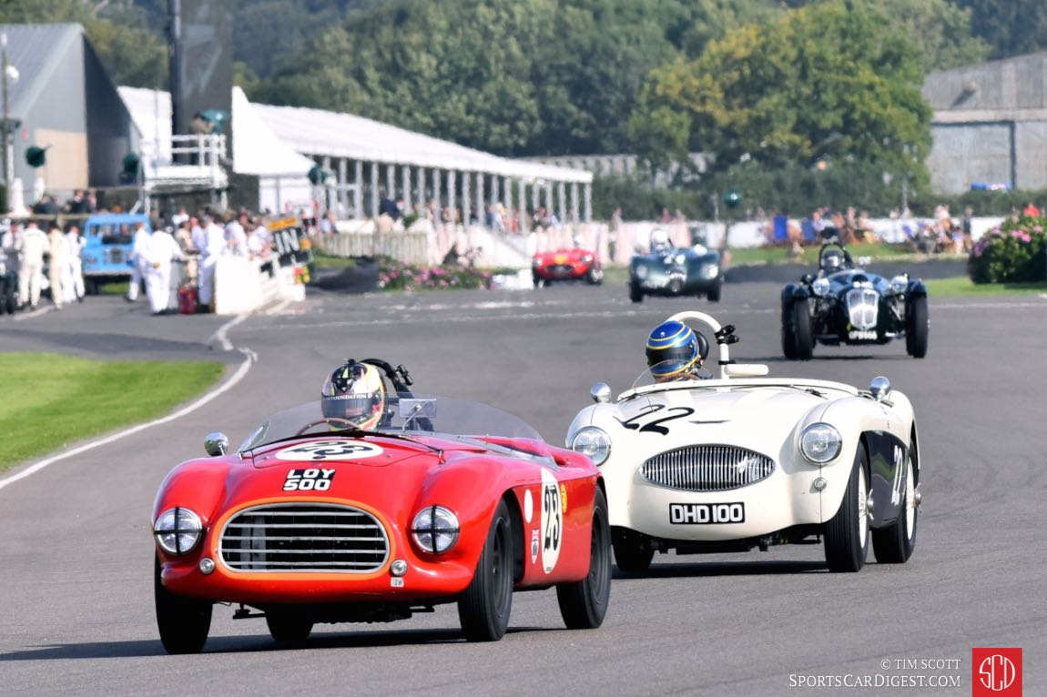 1953 Tojeiro-Bristol and 1953 Austin-Healey 100S