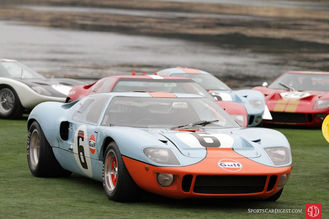 1968 Ford GT40 P/1075, winner of the 24 Hours of Le Mans in 1968 and 1969
