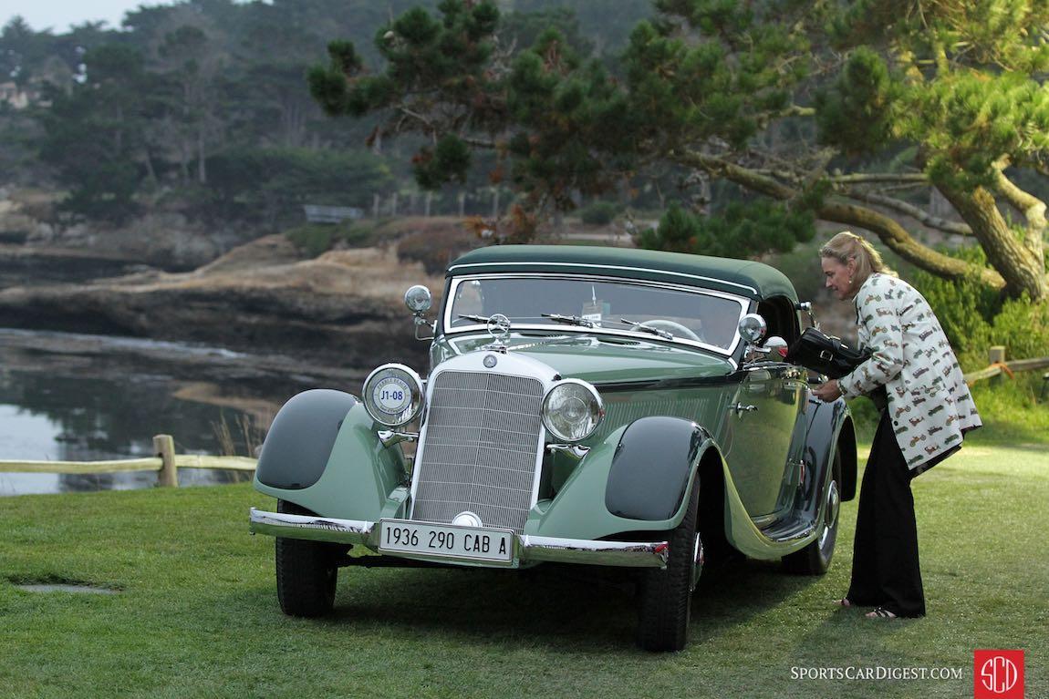 1936 Mercedes-Benz 290 Cabriolet A