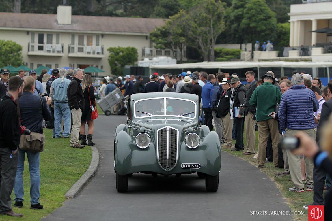 1933/35 Lancia Astura Aerodinamico Castagna Coupe
