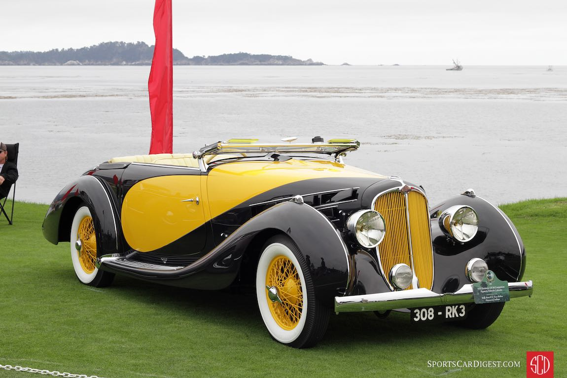 1935 Delahaye 135 M Competition Figoni and Falaschi Cabriolet