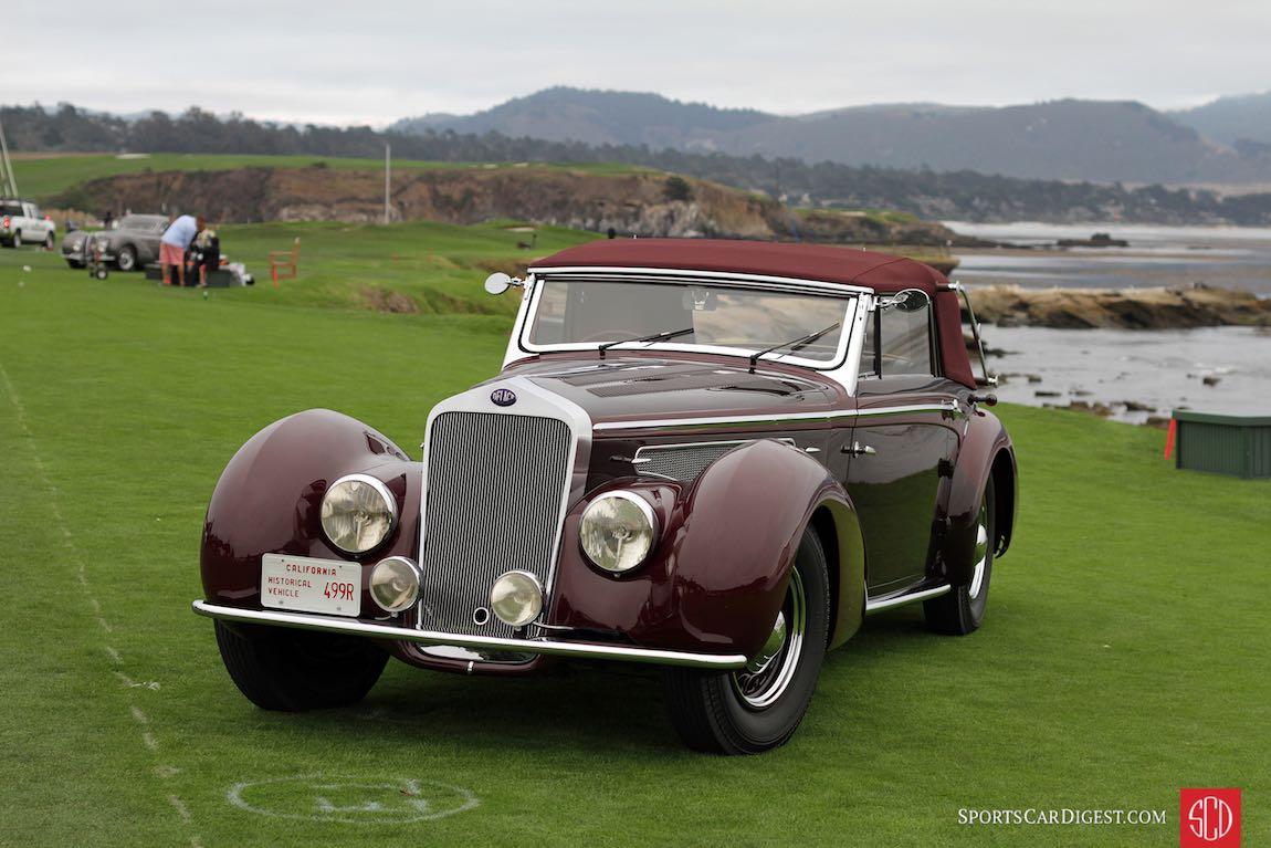 1938 Delage D8-120 Chapron Cabriolet