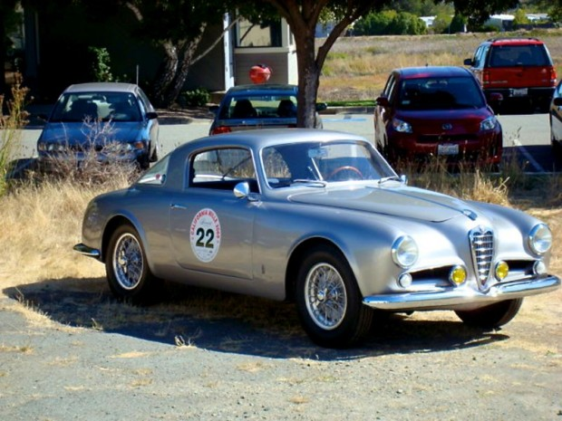 1954 Alfa Romeo 1900 Pinin Farina on the 2008 California Mille, Martin Swig
