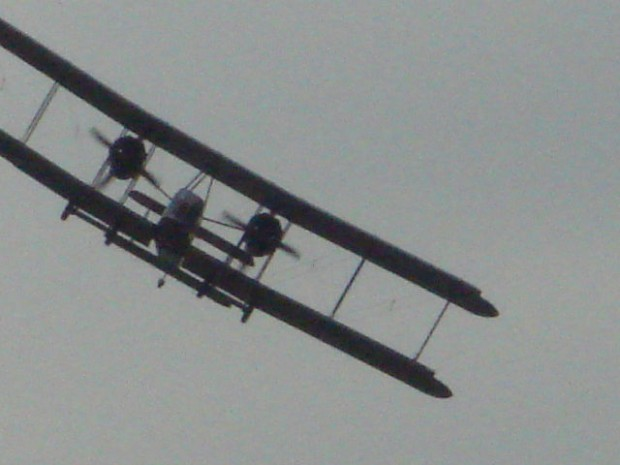 The Vickers-Vimy is an incredibly graceful aircraft.