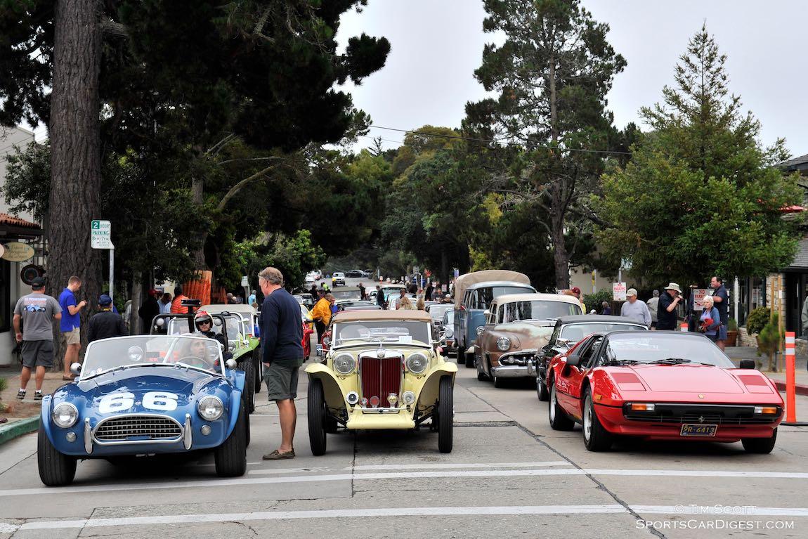 Carmel Concours on the Avenue 2015 (photo: Tim Scott)