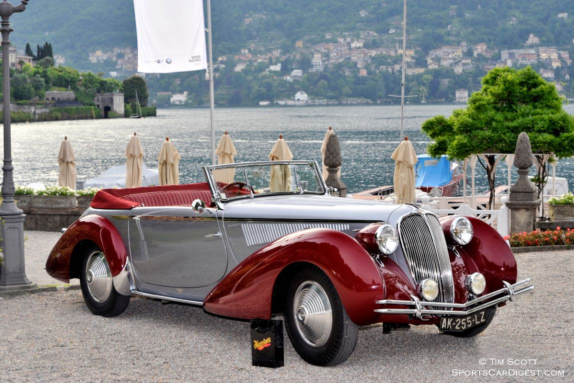 1936 Lancia Astura 3a Serie Cabriolet Stabilimenti Farina