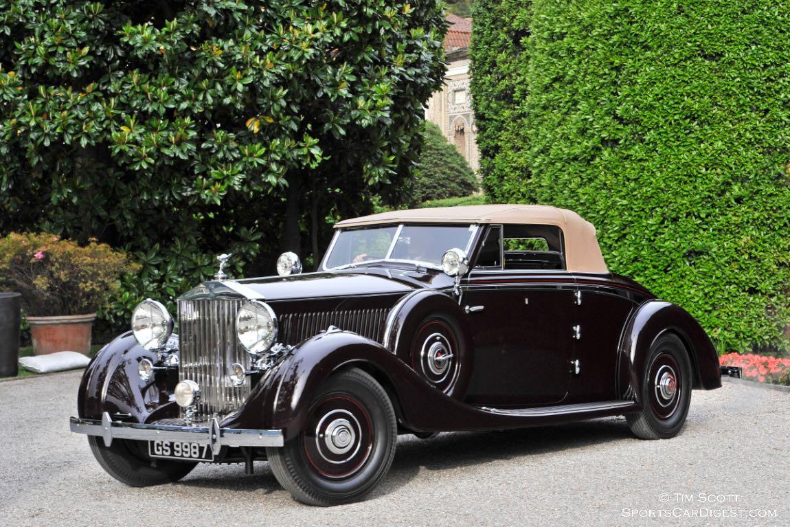 1937 Rolls-Royce Phantom III Drophead Coupe Vanvooren