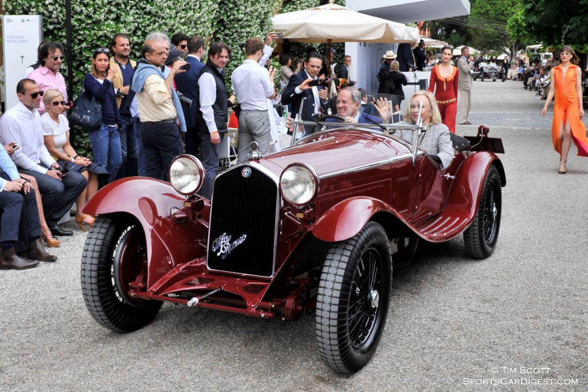 Best of Show-winning 1932 Alfa Romeo 8C 2300 Zagato Spider