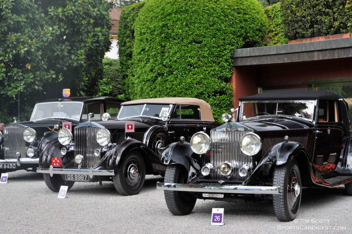 Rolls-Royce Phantom Story at Concorso d'Eleganza Villa d'Este 2015