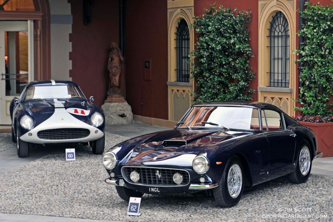 1962 Ferrari 250 GT SWB Berlinetta Scaglietti and 1957 Ferrari 250 GT LWB Competizione Berlinetta Tour de France by Scaglietti