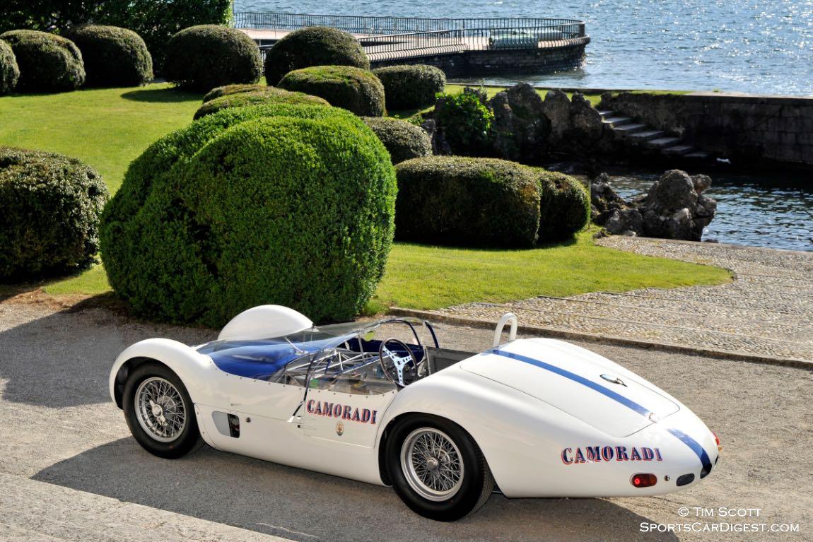 1959 Maserati Tipo 60/61 Birdcage Spider by Allegretti
