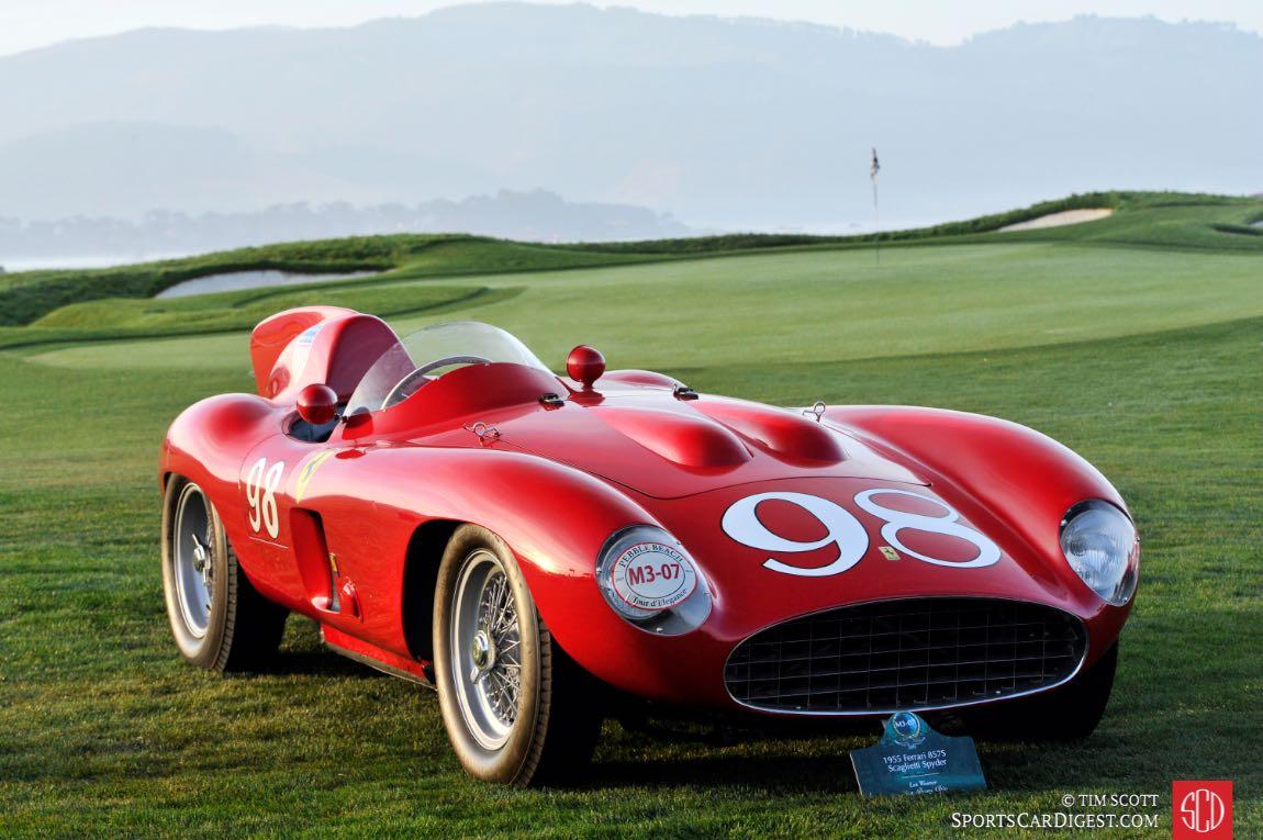 1955 Ferrari 857S Scaglietti Spider