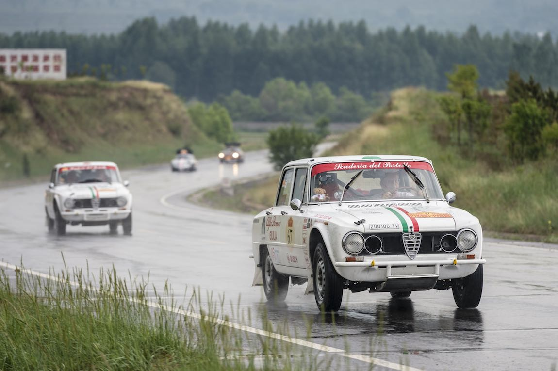 Car 67. Roberto Chiodi(I) / Maria-Rita Degli Esposti(I)1973 - Alfa Romeo Giulia1290, Peking to Paris 2016., Peking to Paris 2016. Day 02. Datong - Erenhot