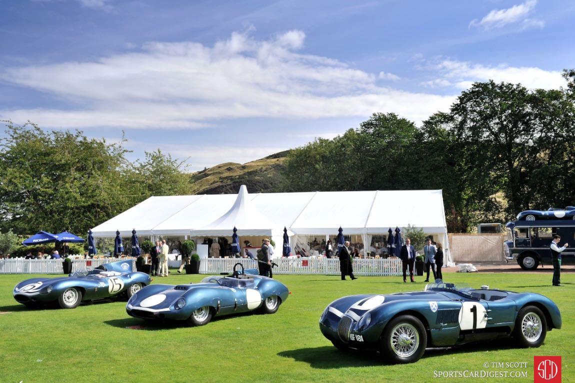 Ecurie Ecosse - 1956 Jaguar D-Type, 1959 Tojeiro-Jaguar Sports-Racing Prototype and 1953 Jaguar C-Type