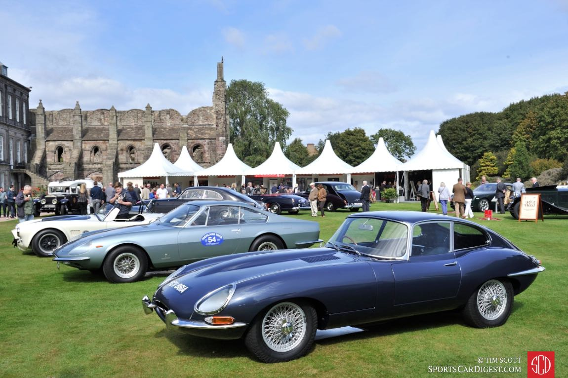 1963 Jaguar E-Type 3.8 Fixed Head Coupe and 1967 Ferrari 330 GTC Speciale