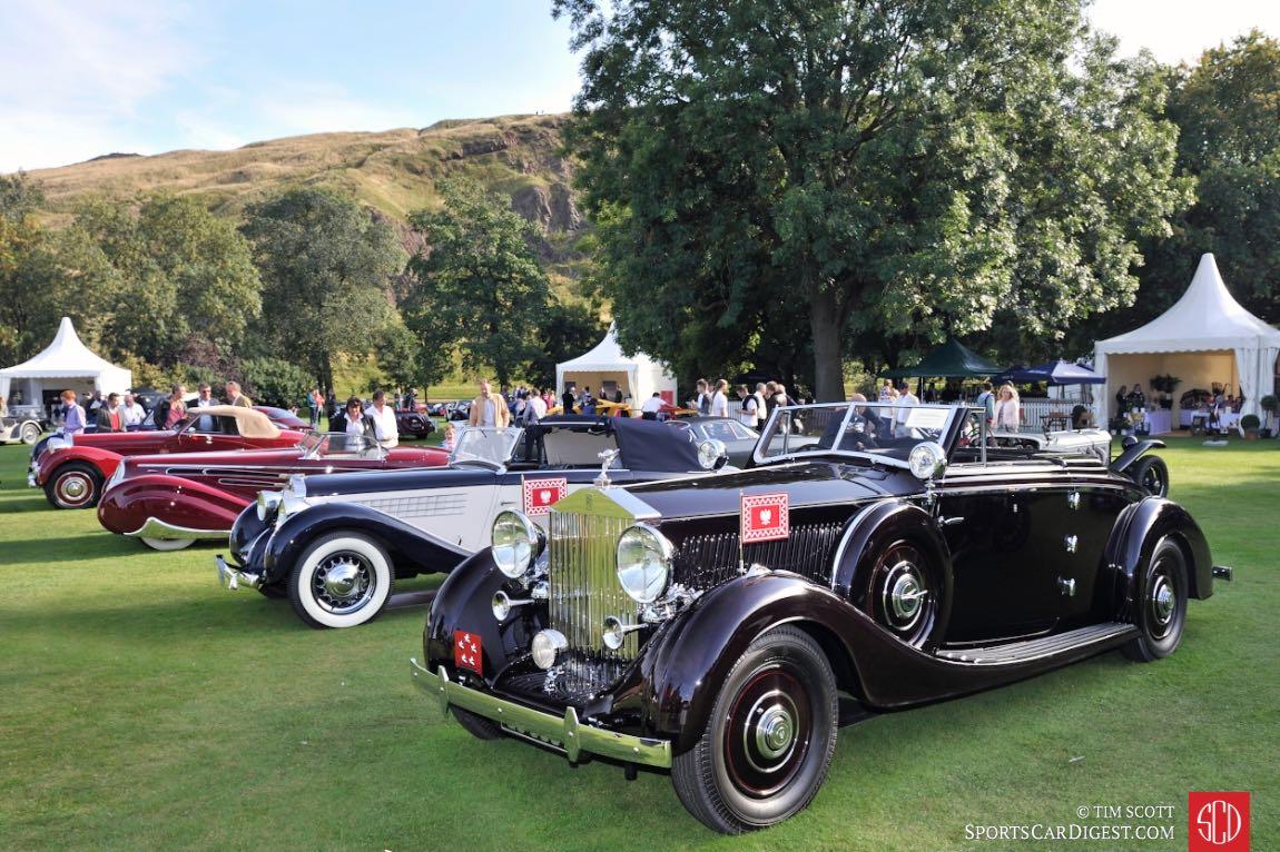 1937 Rolls-Royce Phantom III Vanvooren Drophead Coupe
